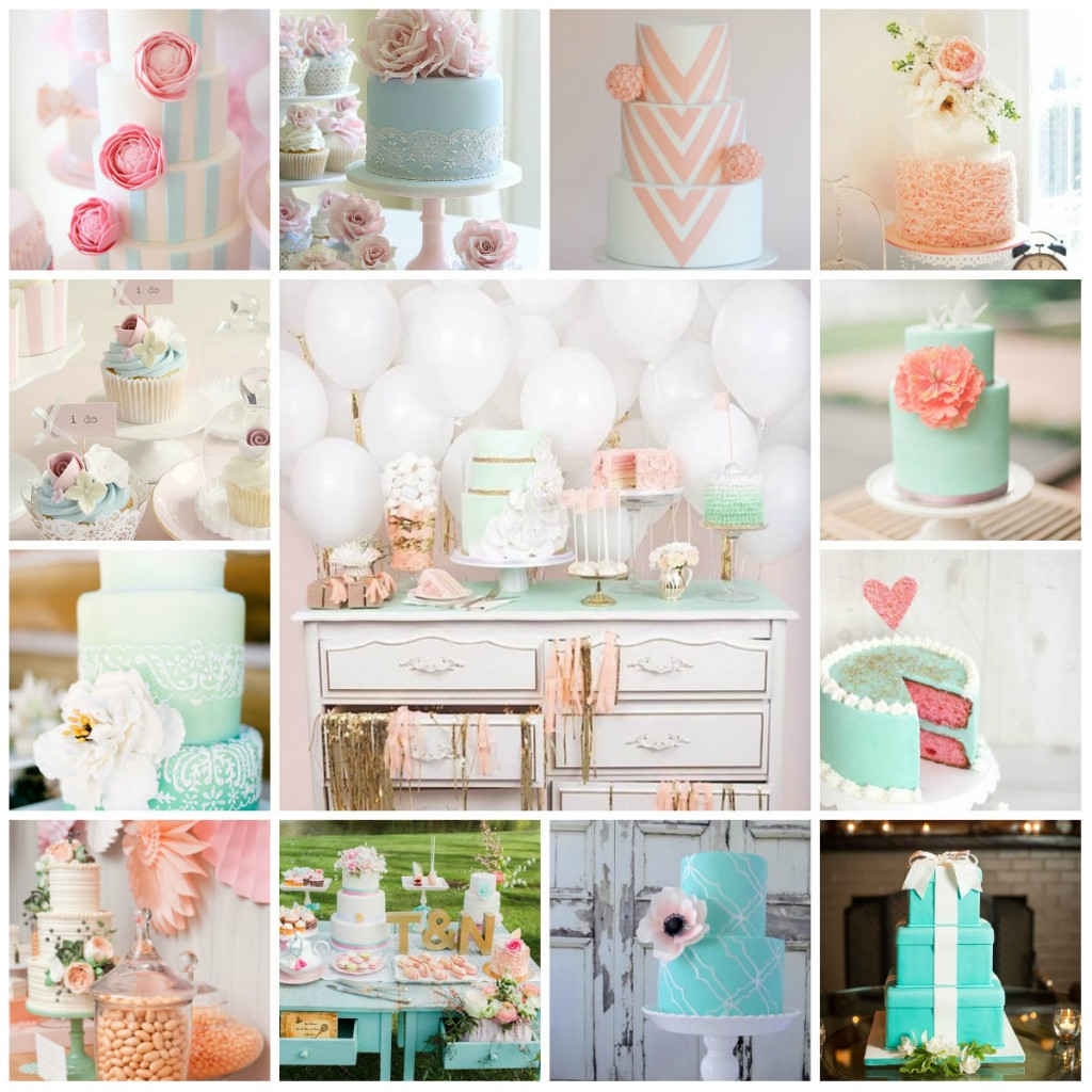 Wedding Cake Tiffany Pastel