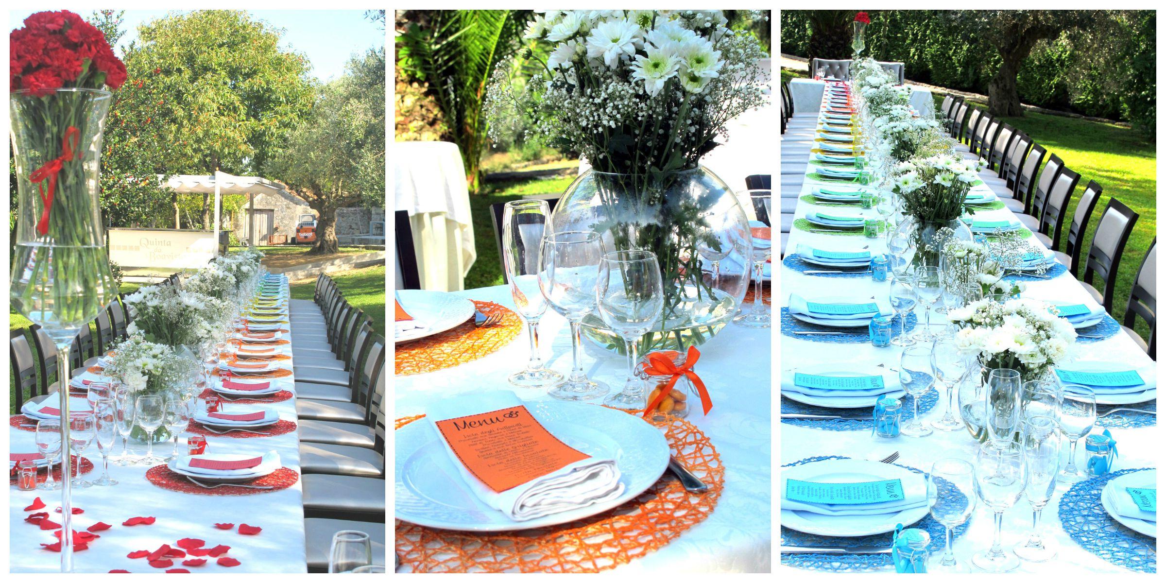 Matrimonio Tema Arcobaleno : Rainbow wedding mise en place weddinglam matrimoni