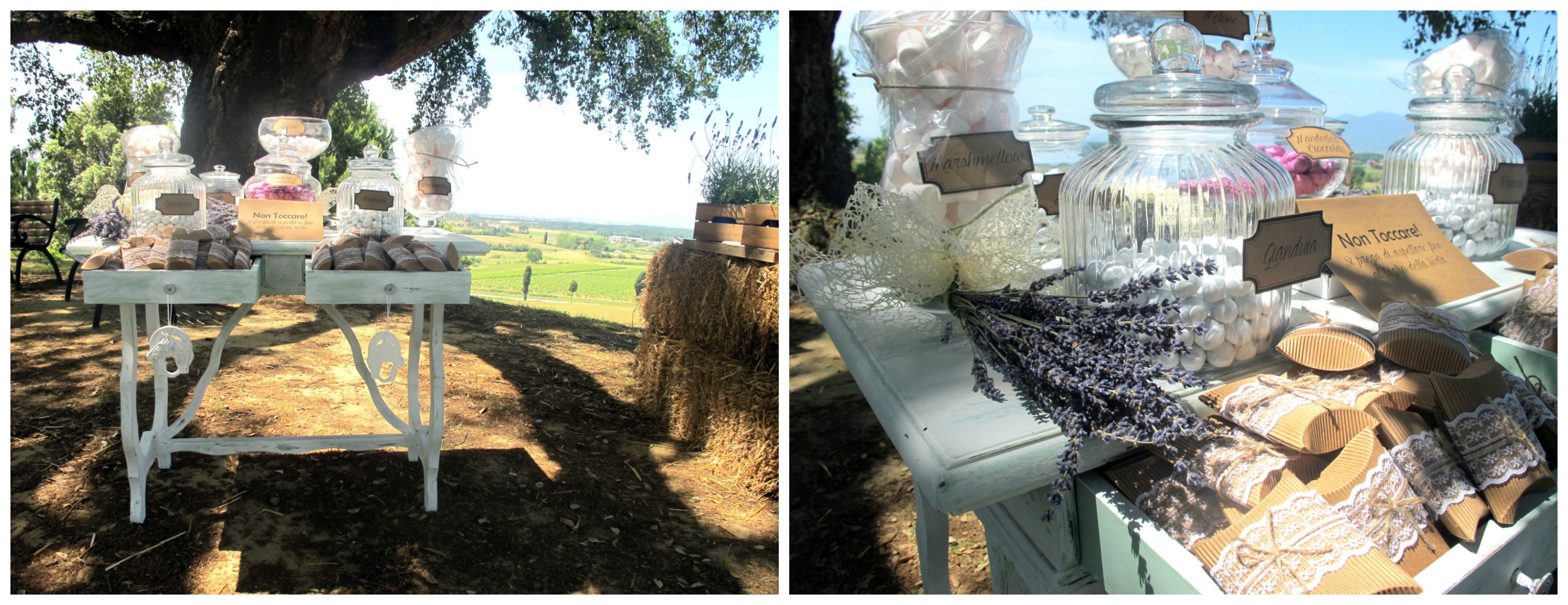 Confettata Country Chic Tema Lavanda Wedding Planner