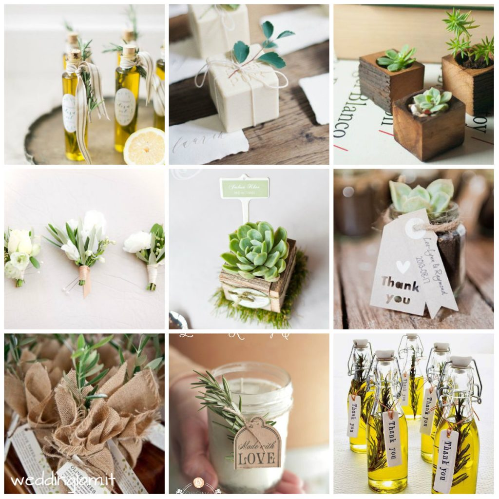TUSCAN ULIVE WEDDING FAVOR
