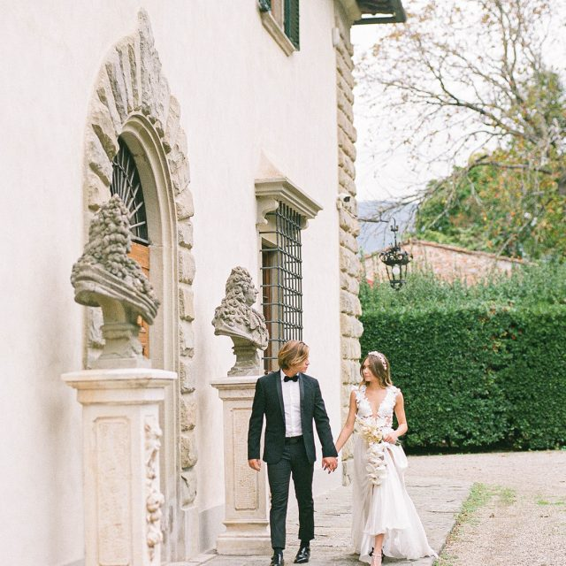 Luxury Villa Wedding in Tuscany