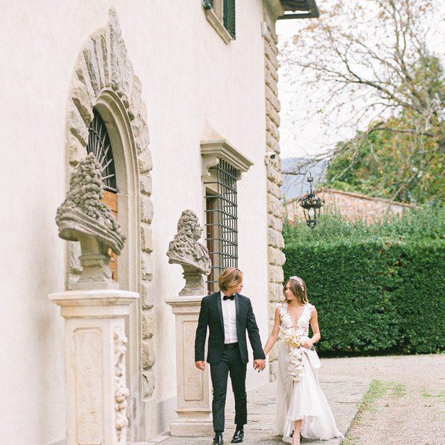 Luxury Villa Wedding in Tuscany